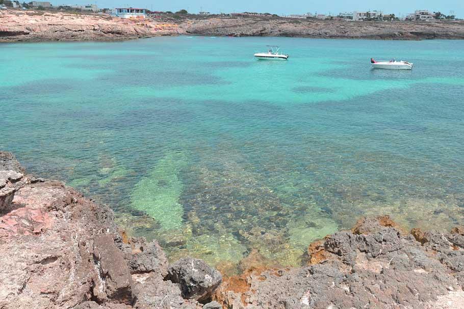 Lampedusa i caraibi della Sicilia