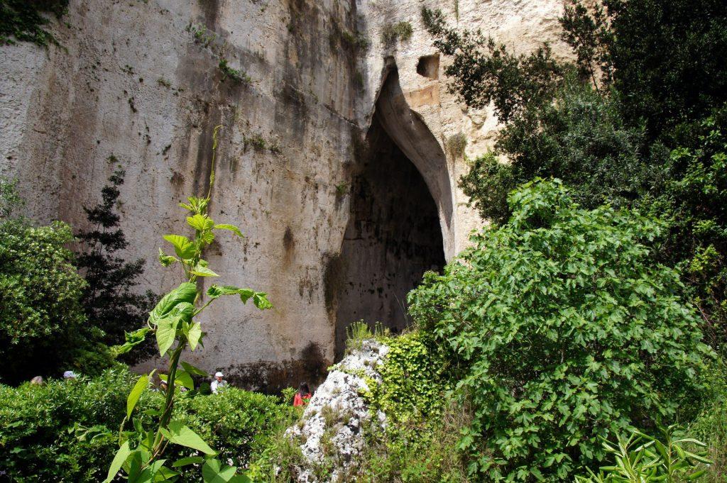 orecchio dionisio siracusa parco archeologico da vedere